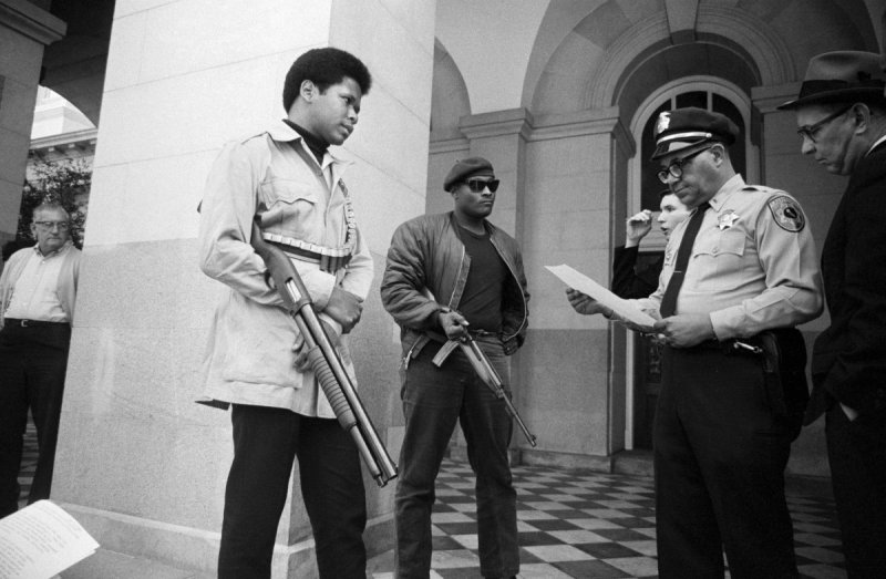 The NRA Supported Gun Control When the Black Panthers Had the Weapons - HISTORY