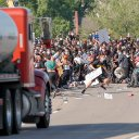 Man who drove semi into Minneapolis protest over death of George Floyd to be released from jail - Twin Cities