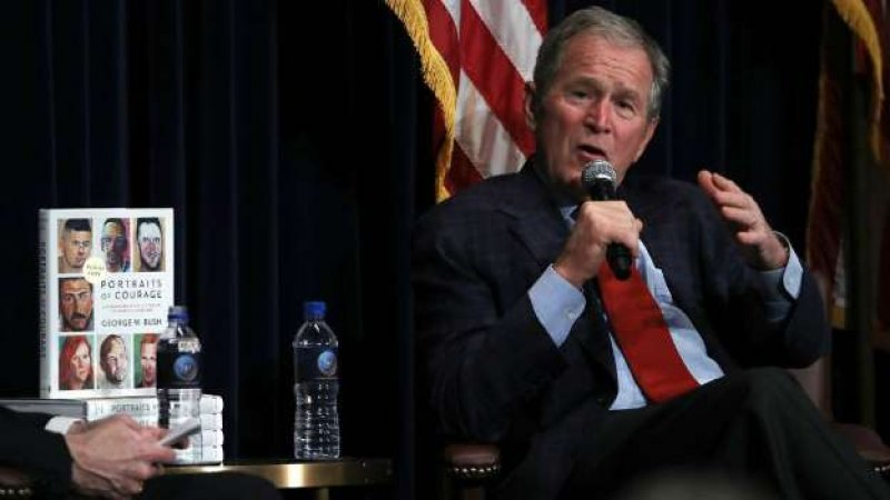 Both George W Bush and Mitt Romney Turn Away From Donald Trump's Candidacy