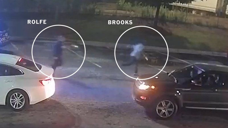 How Rayshard Brooks Was Fatally Shot by the Atlanta Police - The New York Times