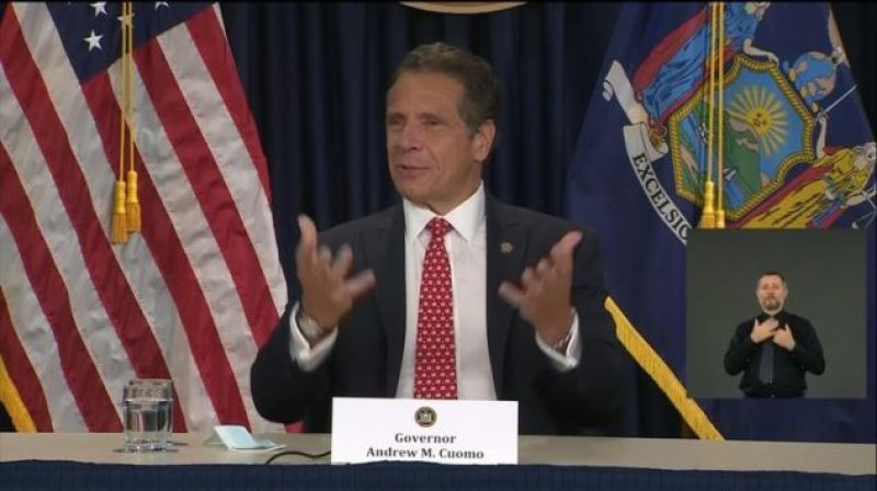 New York Gov. Cuomo Floats Quarantine for People Entering N.Y. From Florida