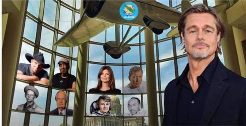 "Stay Home Oklahoma"" with Oklahoman Brad Pitt by Founders Sing"