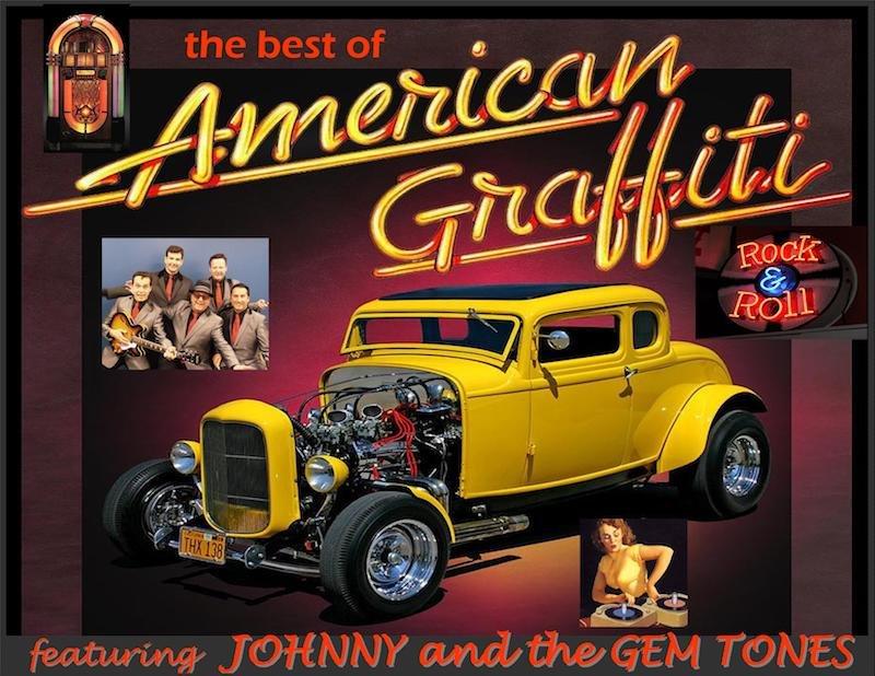 American Graffiti 1973 - Music Video (with cars!): Johnny B. Goode