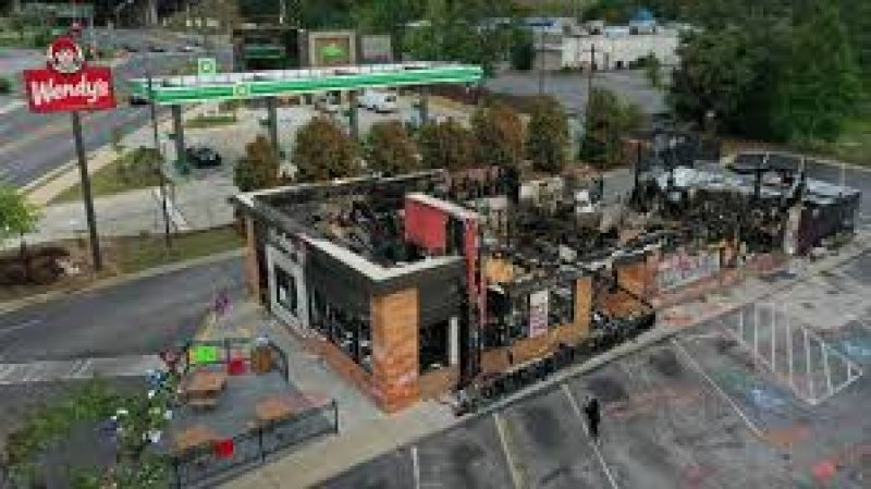 Woman arrested in torching of Atlanta Wendy's where Rayshard Brooks died