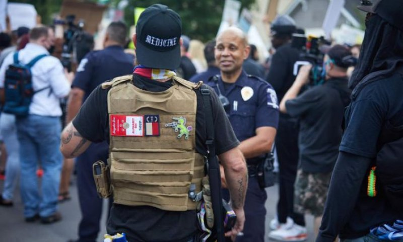 Violence by far-right is among US's most dangerous terrorist threats, study finds