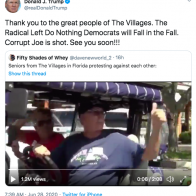 "Video retweeted by Trump shows supporter yelling ""white power"" - Axios"