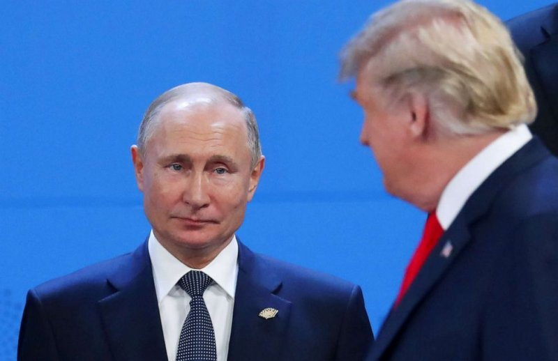 Trump says what happens in Putin meeting is 'none of your business' ( June, 26,2019 )