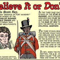 Francis Scott Key and the Third Stanza - Believe It Or Don't