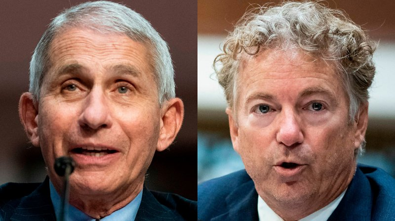 WATCH: Rand Paul boils Dr. Fauci's coronavirus response down to 'we can't do this, we can't do that'