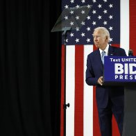 AP FACT CHECK: Trump falsely asserts Biden was fed questions