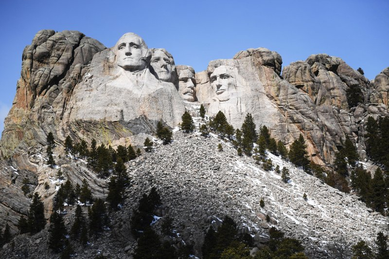 South Dakota tribal leader joins call to remove Mount Rushmore ahead of Trump visit