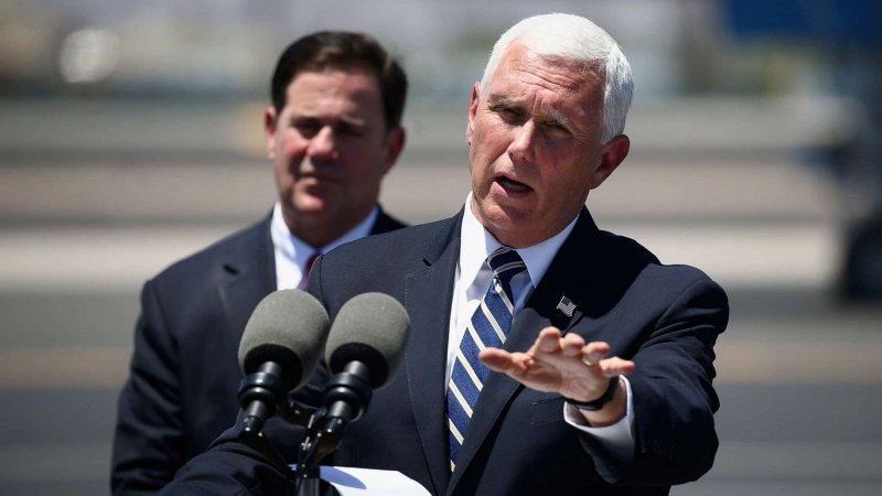 Pence's Arizona trip was delayed by Secret Service agents getting COVID-19