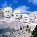 Trump Face Placed On Mt Rushmore