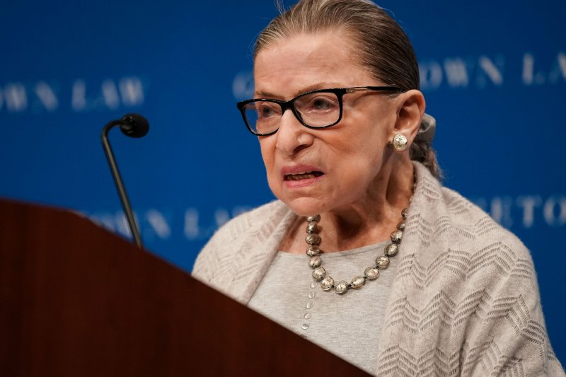 U.S. Supreme Court's Ginsburg in hospital after possible infection