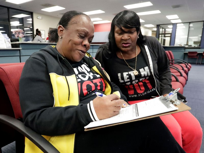 Supreme Court deals blow to felons in Florida seeking to regain the right to vote
