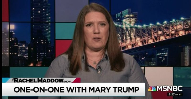 Mary Trump Says She Heard Donald Trump Use The N- Word And Make Anti-Semitic Slurs