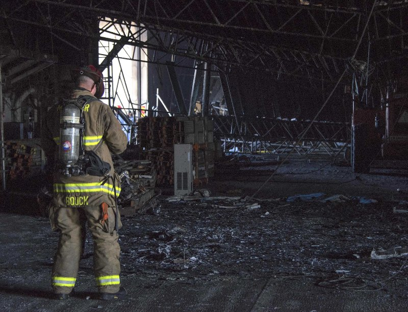 Fire Chief Details Battling USS Bonhomme Richard Blaze as Investigations Begin