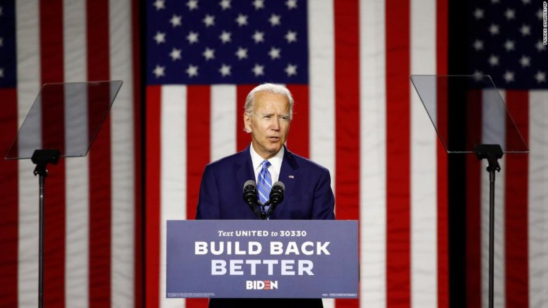 New 2020 polls show Joe Biden continuing to run well ahead of Hillary Clinton's 2016 pace - CNNPolitics