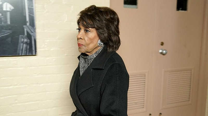 Maxine Waters jumps out of vehicle to monitor officers who pulled over Black motorist