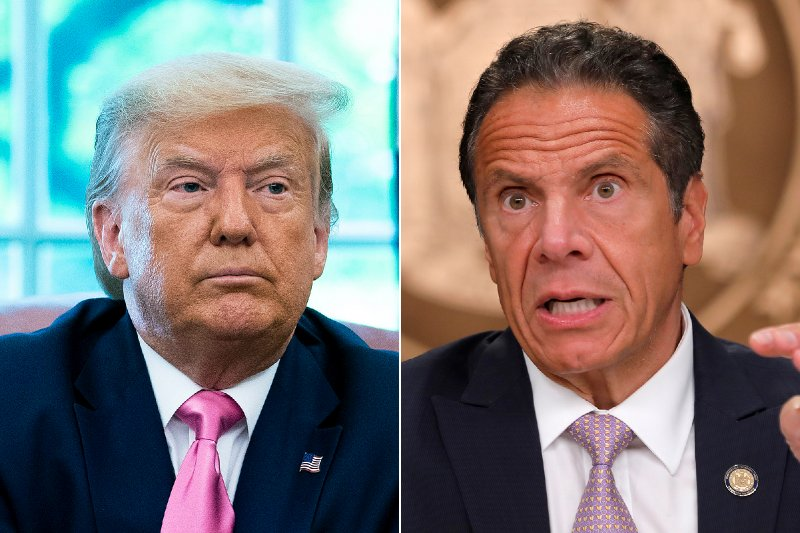 Trump says Cuomo must end NYC 'crime wave' — or he will step in