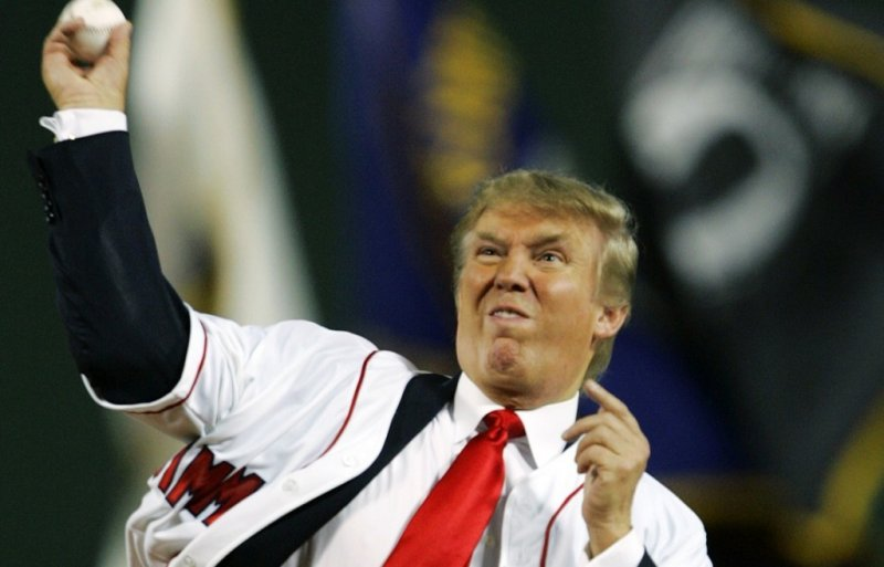 "Trump Claims He ""Won't Be Able To Pitch For The Yankees"" - The Lint Screen"