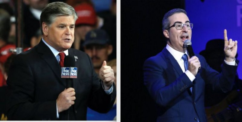Sean Hannity Has A Problem With John Oliver:  Why So Serious?