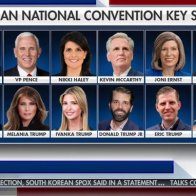 Donald Trump is to speak on all 4 nights of the RNC, and his family will take up half of the keynote speaker spots