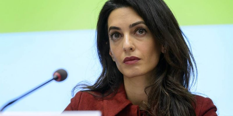 Amal Clooney quits envoy role in protest of Britain's 'lamentable' Brexit legislation