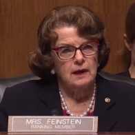 'The dogma lives loudly in you': Diana Feinstein's grilling of Trump SCOTUS frontrunner for her devout catholicism goes viral