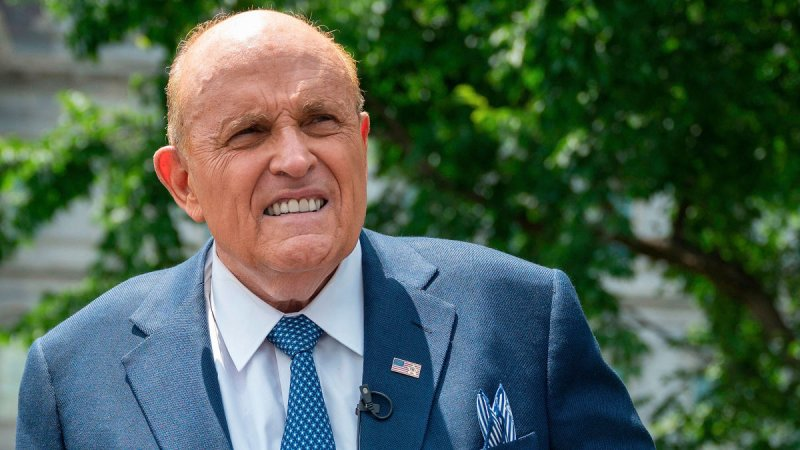 Rudy Giuliani Tests Positive For Slew Of Obscure Bat Diseases Unrelated To Covid-19