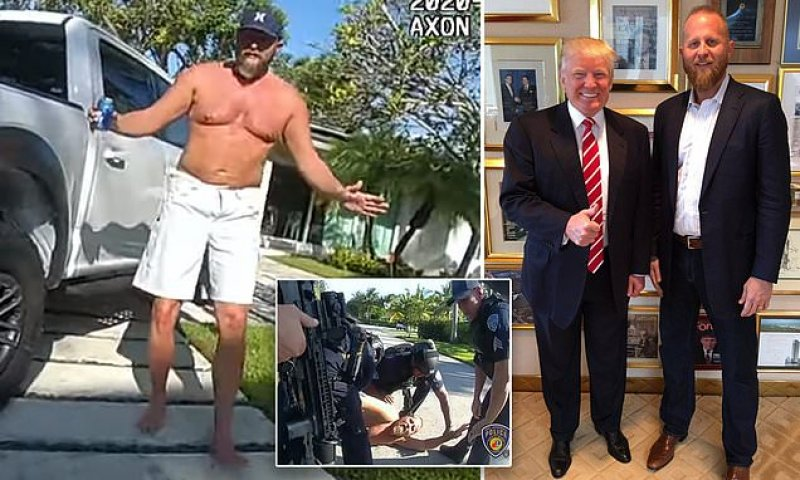 Brad Parscale probed on $40m theft from 2020 Trump election campaign | Daily Mail Online
