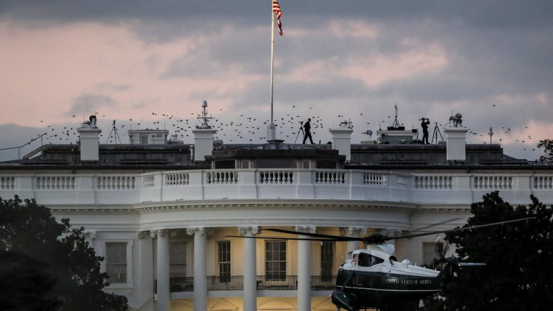 The head of the White House security office is critically ill with Covid-19.