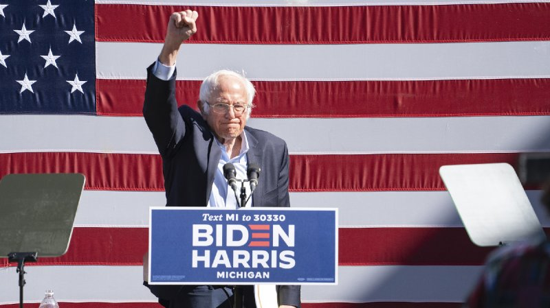 Bernie Sanders Is Working to Turn Out Young Voters—Even if Biden Keeps Bashing Socialism - Mother Jones