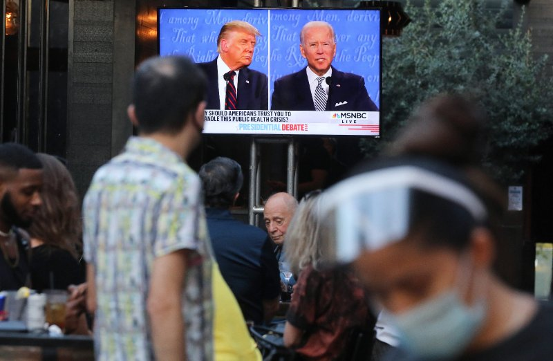 Biden leads Trump by 12 points nationally, polls finds