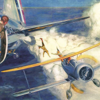 The Story Behind One of History's Most Spectacular Mid-Air Rescues