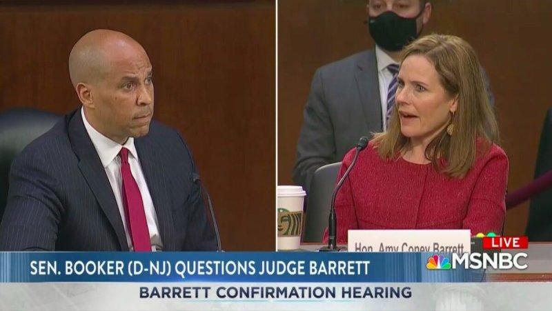 Amy Coney Barrett Punts on Trump Refusing Peaceful Transfer