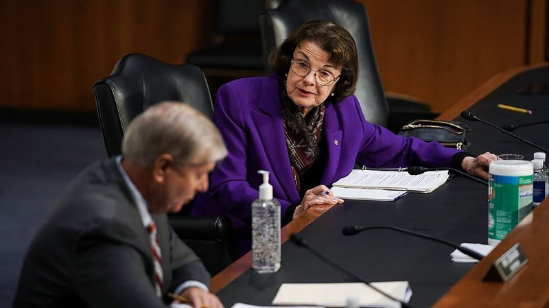 Progressive group: Feinstein must step down as top Democrat on Judiciary panel