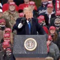 Trump's closing argument to women: 'We're getting your husbands back to work'