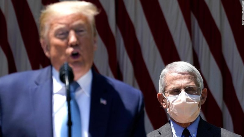 Anthony Fauci: Trump suggests he might fire infectious disease expert after election