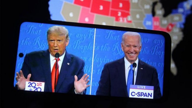 Dow Jones Jumps 600 Points In Election Day Rally As Biden Leads Trump