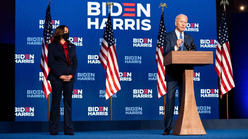 Biden Wins Presidency, Ending Four Tumultuous Years Under Trump - The New York Times