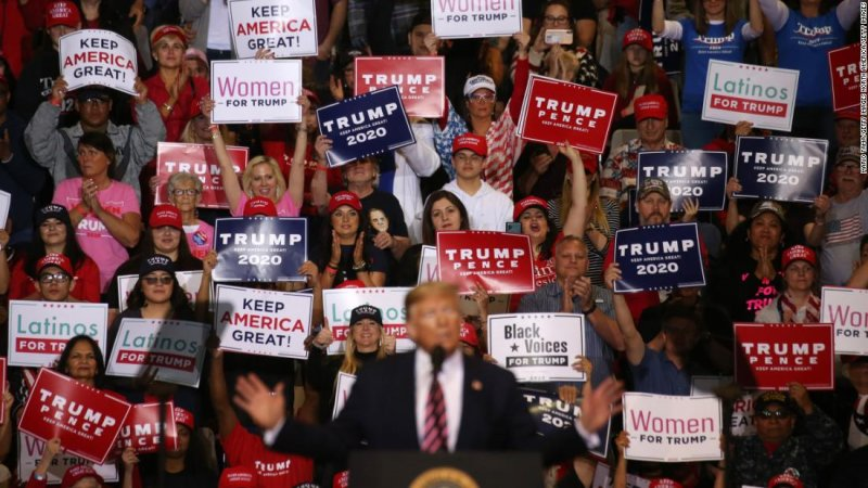 What Trump's four years taught me about the two White Americas - CNNPolitics
