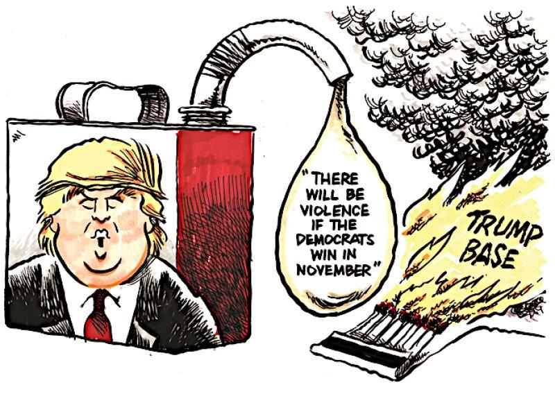 Trump escalates defiance of the 2020 election outcome