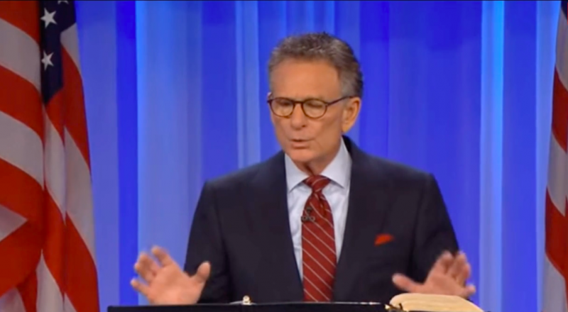 Evangelical Pastor Claims People in Heaven Are 'Crying Out' About Voter Fraud: 'Angels Have Been Dispatched'