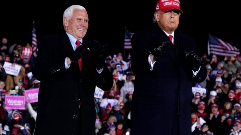Tight spot: Trump loss complicates Pence's political future - ABC News
