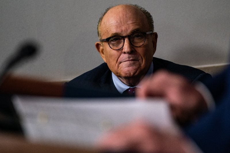 Here's what happened when Rudolph Giuliani made his first appearance in federal court in nearly three decades