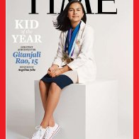 """Student scientist and inventor Gitanjali Rao is Time Magazine's first """"Kid of the Year"""""""