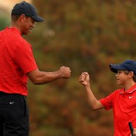 Tiger Woods and son Charlie capture hearts and minds during PNC Championship