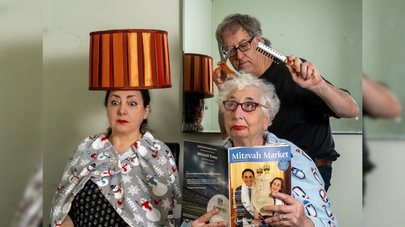 Man living with mom and ex-wife documents their quarantine in hilarious photo series