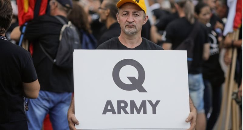 'A-grifting he will go': Former Trump official mocked after he's reduced to peddling QAnon merch